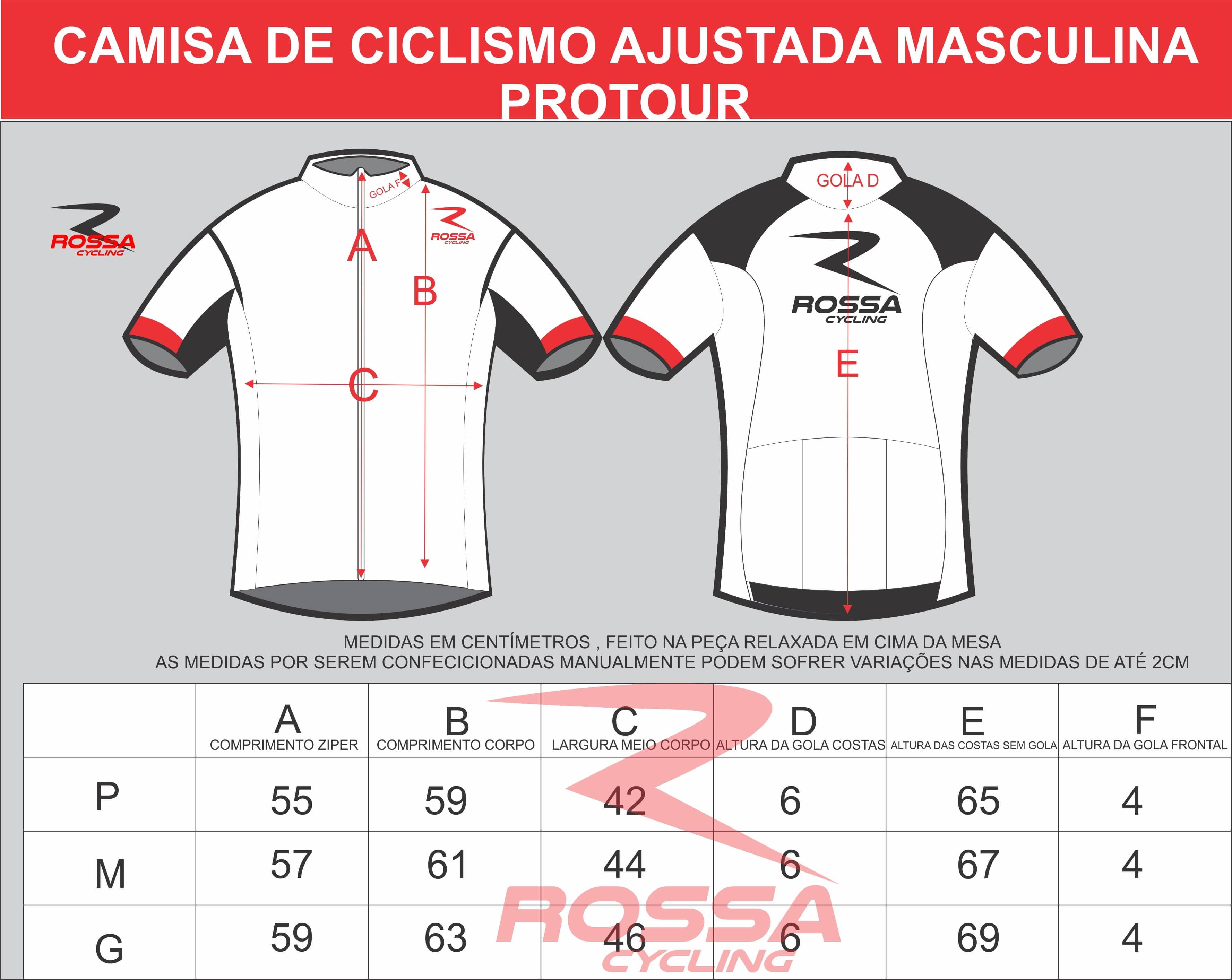 Camisa #forçachape - modelo ciclismo ajustado ProTour
